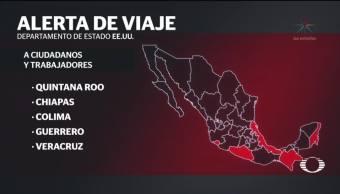 Alerta de viaje a México, una llamada de atención