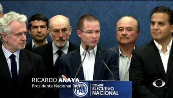 Ricardo Anaya niega presunto enriquecimiento de su familia
