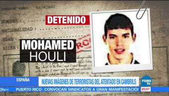 Nuevas imágenes de terroristas del atentado en Cambrils