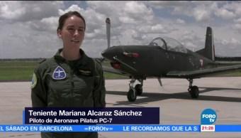 15 mujeres piloto participarán el séptimo Espectáculo Aéreo