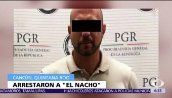 Detienen Ignacio Cevallos El Nacho narcotráfico
