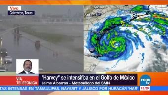 Harvey ubica al noreste Matamoros Tamaulipas