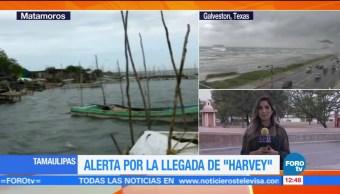 Matamoros prepara efectos del huracán Harvey