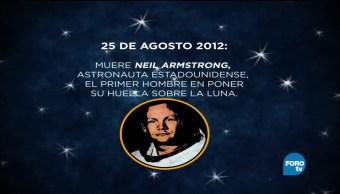 Anecdotario Secreto Neil Armstrong primer hombre en pisar la luna