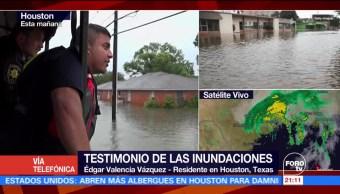 Inundaciones han colapsado sistema de drenaje en Houston