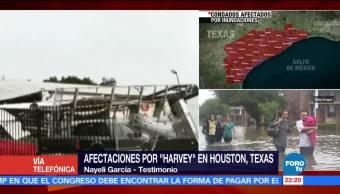 Servicios de electricidad y agua continúan en Houston afirma residente