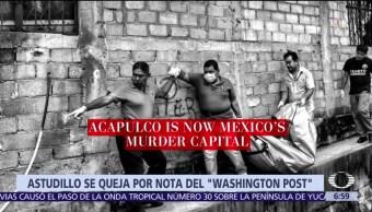 Héctor Astudillo Campaña Desprestigio Guerrero
