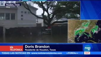Doris Brandon Relata Afectaciones Houston Harvey