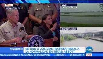 Nuestra Prioridad Rescatar Damnificados Harvey Gobernador De Texas