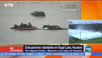 Evacuaciones Voluntarias Sugar Land Houston