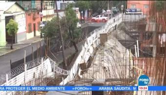 Socavón Obra Calzada Ignacio Zaragoza