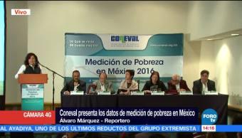 Coneval presenta datos medición pobreza México