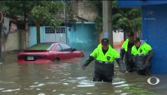 Inundaciones continúan en Cuautitlán Izcalli Edomex