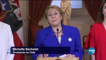 Conservadores de Chile rechazan iniciativas de Bachelet