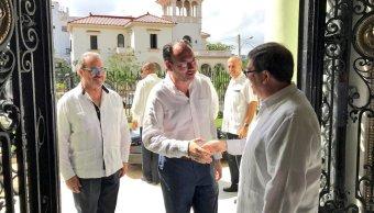 Acuerdan México y Cuba fortalecer el comercio e inversión