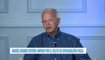 Andrés Granier obtiene amparo por el delito de defraudación fiscal