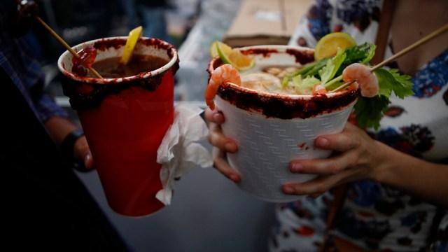 mexico festeja la expo michelada