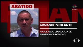 asesinan armando violante fraude pemex veracruz