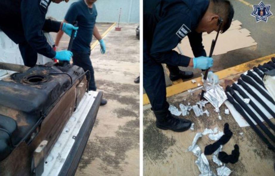 detienen personas cargamento ilegal armas oaxaca