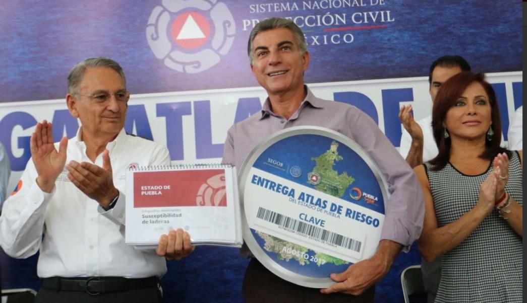 Presentan Atlas de Riesgo del estado de Puebla