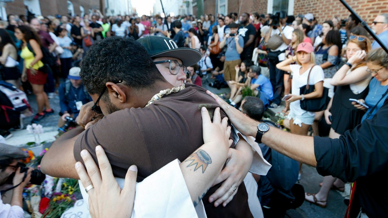 Atropellamiento en Charlottesville, el incidente racial más grave