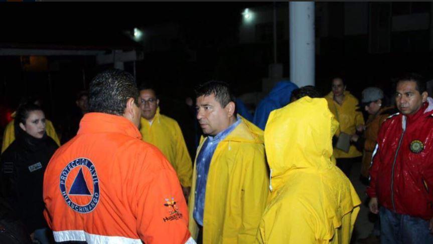 Autoridades de Huauchinango atienden albergue