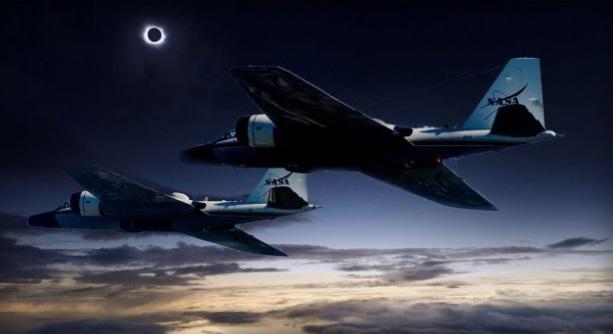 Aviones de la NASA perseguirán eclipse solar del 21 de agosto