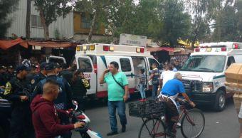 Balacera por riña en Tepito deja siete lesionados