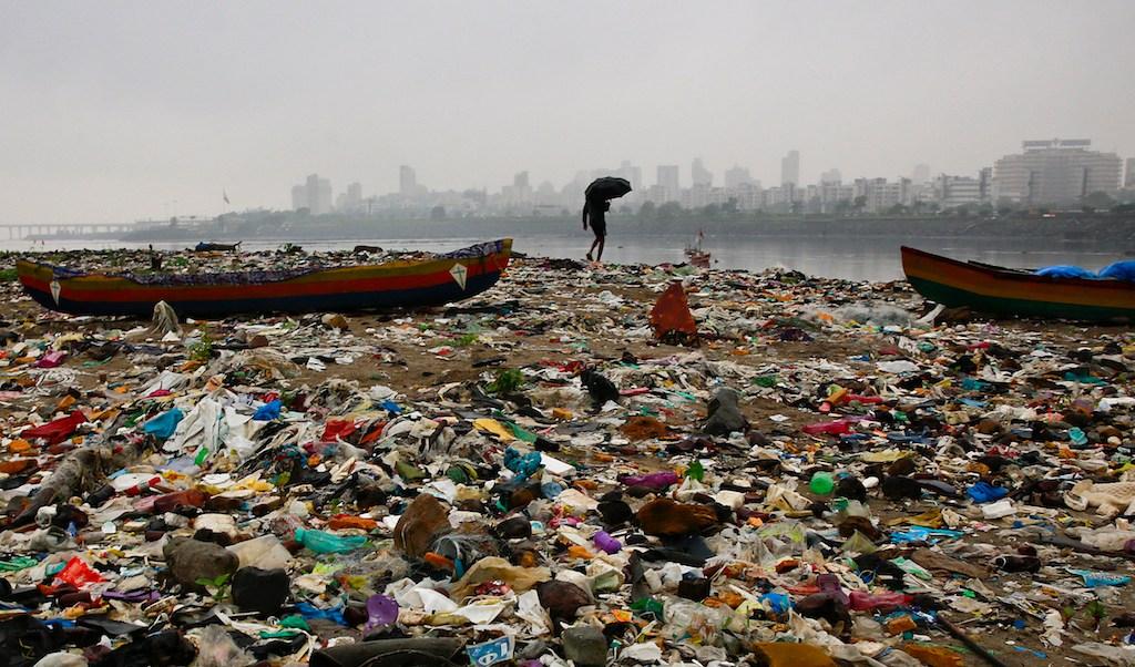 isla basura, Pacífico sur, plástico, México