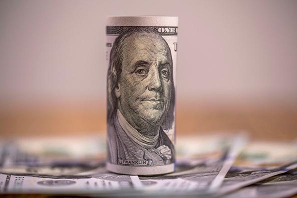 Billetes de Estados Unidos de diferente valor