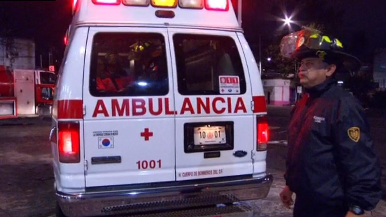 Bomberos de la CDMX estrenan un servicio de ambulancia