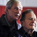 Expresidentes Bush llaman a rechazar el antisemitismo y el odio en EU