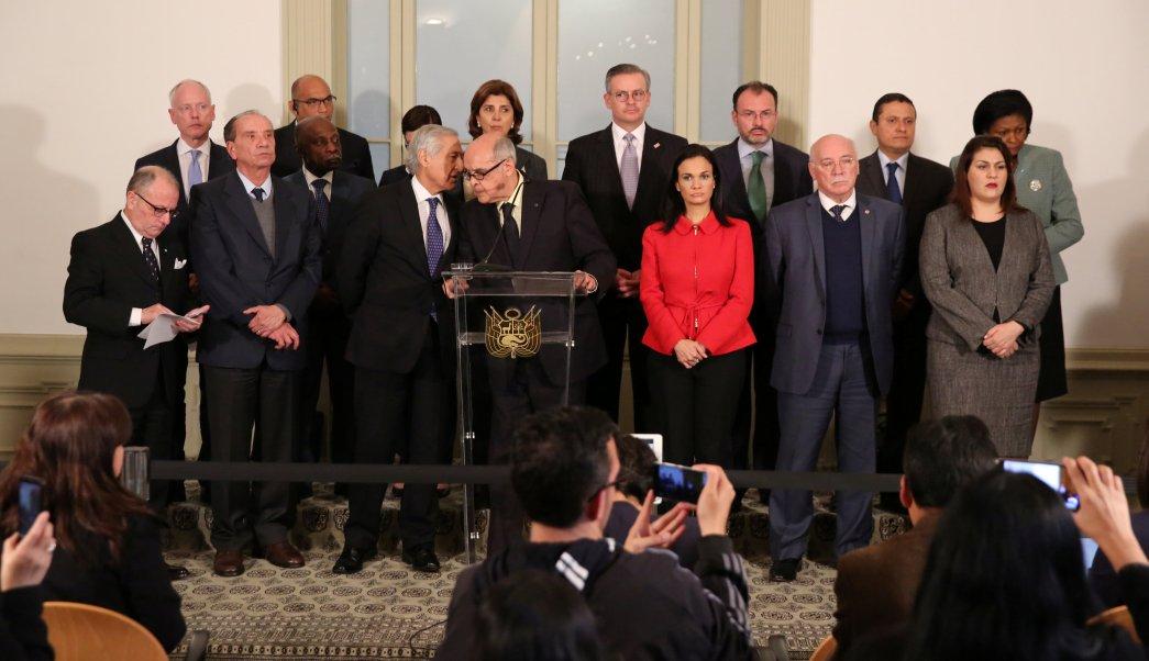 Cancilleres America desconocen Asamblea Constituyente Venezuela