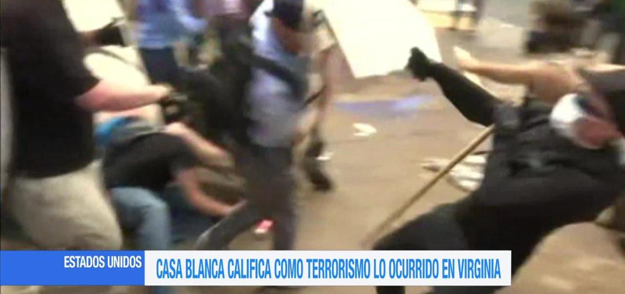 Casa Blanca Califica Acto Terrorismo Ocurrido Virginia Herbert Mcmaster