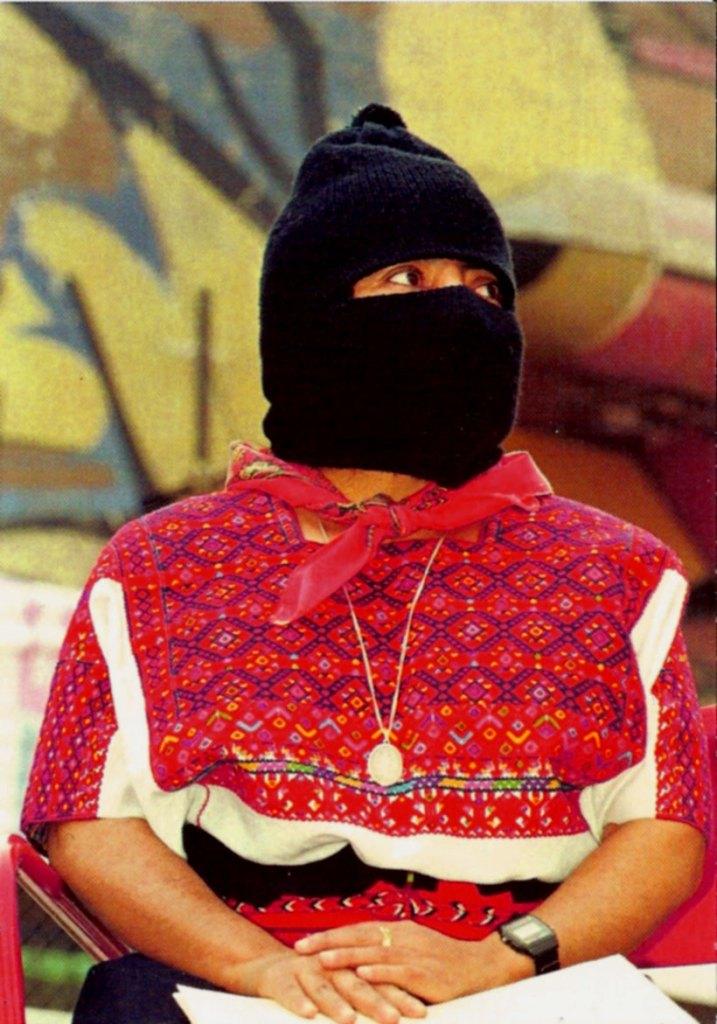 Comandanta Ramona, indigenas