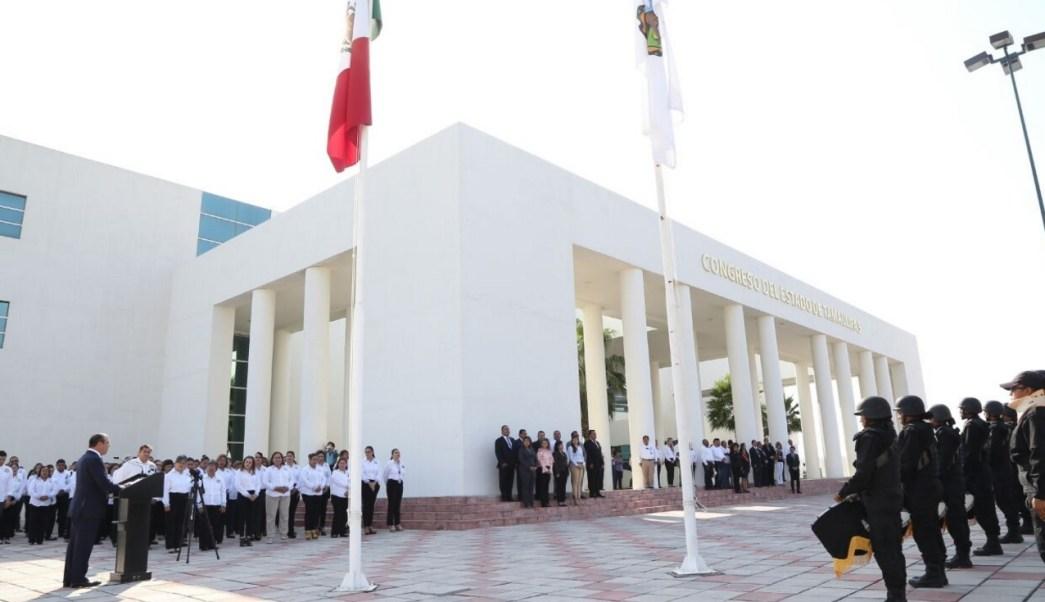Rinden homenaje a funcionarios caídos en Ciudad Victoria