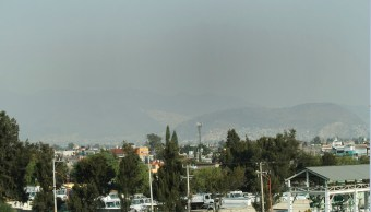 Conamitancion sobrevuela sobre el valle de mexico