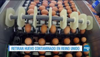 Crece escándalo huevos contaminados en Europa