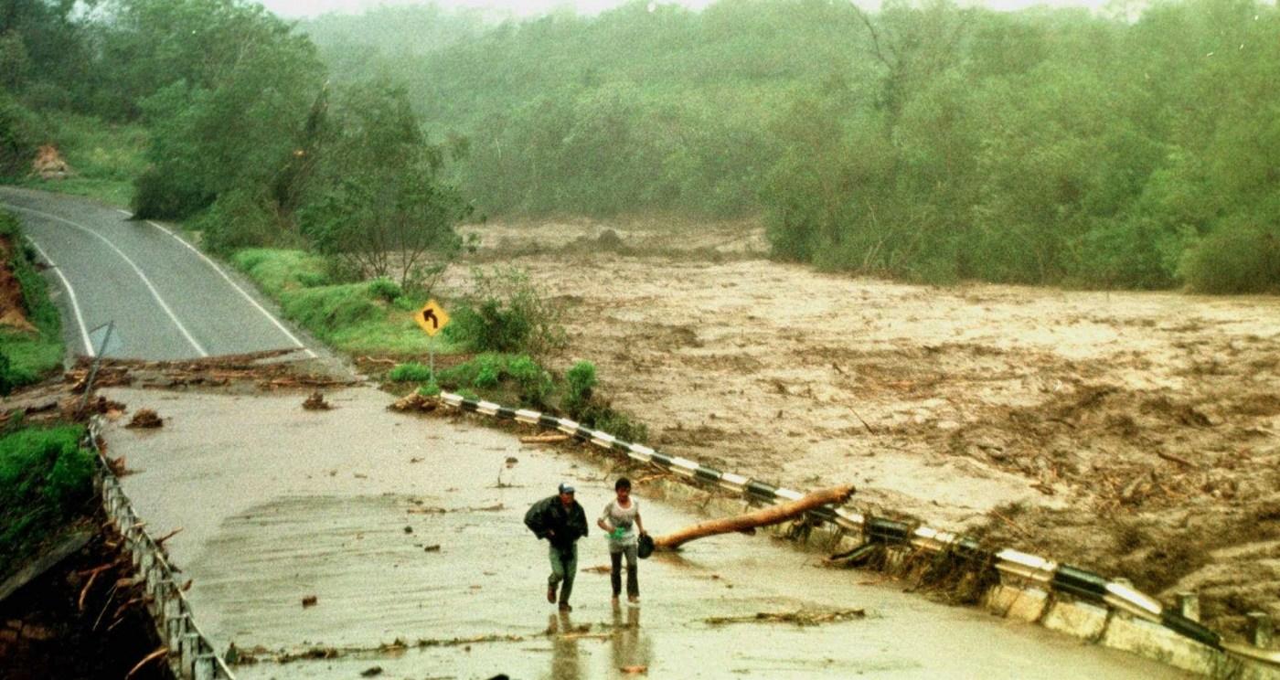Daños tras el paso del huracán 'Paulina' en Guerrero