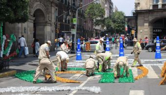 Inician preparativos para celebraciones patrias de septiembre en la CDMX