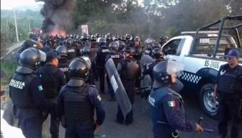 Desalojan predio invadido en Misantla, Veracruz
