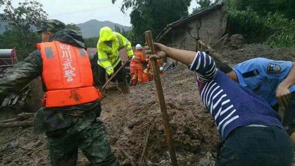 deslizamiento tierras china dejan ocho muertos 17 desaparecidos