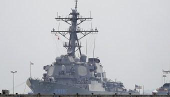 Marina de EU ordena pausa operacional tras colisión cerca de Singapur