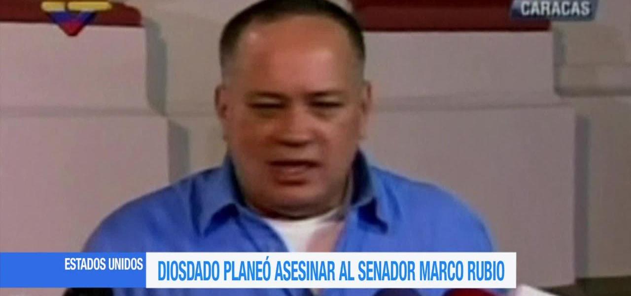 Diosdado Cabello, planeó, asesinar, Marco Rubio