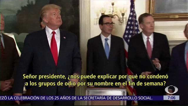 Donald Trump, arremete, reportero, CNN