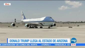 Donald Trum Arizona Visitara Frontera Mexico