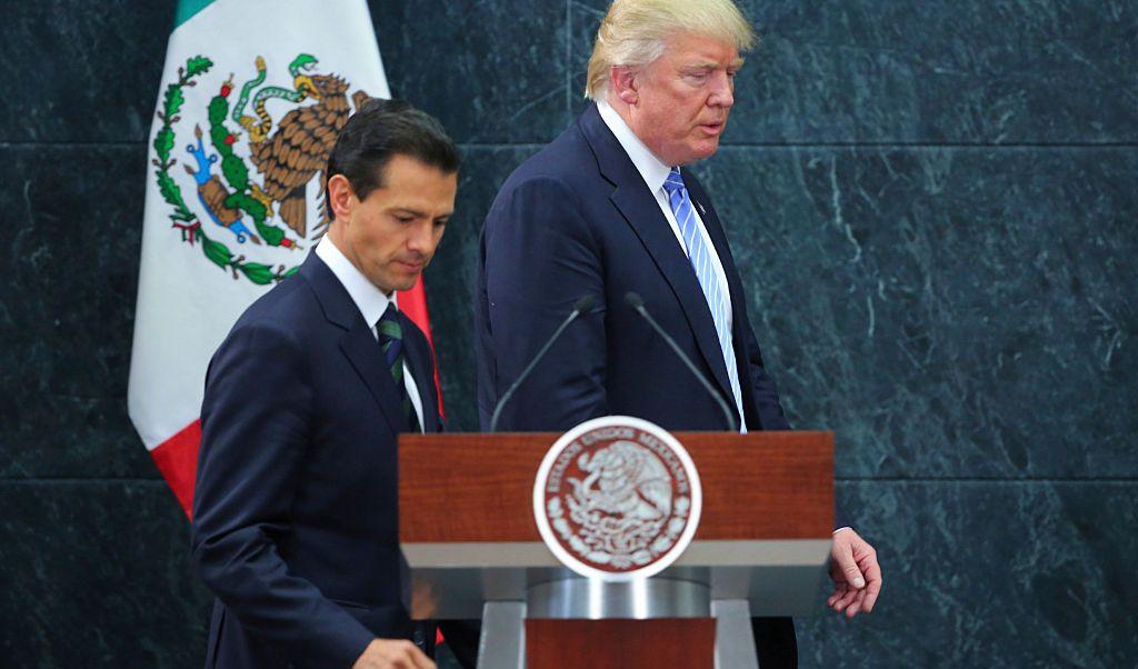 Casa Blanca Trump no hablo EPN