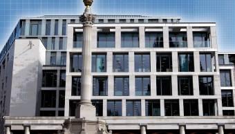 Fachada del edificio de la Bolsa de Londres