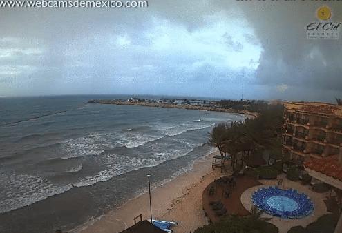 Alerta en Quintana Roo por la tormenta Franklin
