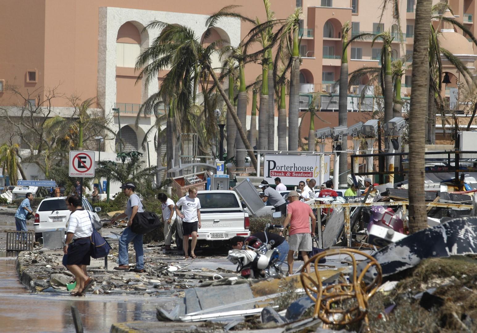 Efectos del huracán Wilma en Quintana Roo